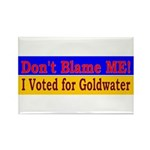Don't Blame ME-BG Rectangle Magnet (10 pack)