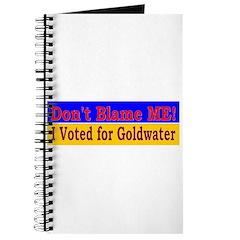 Don't Blame ME-BG Journal
