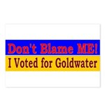 Don't Blame ME-BG Postcards (Package of 8)