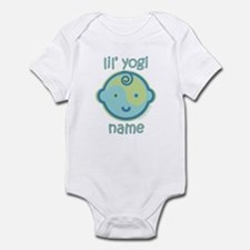 Lil' Yogi (Green/Blue) Infant Bodysuit