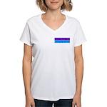 Don't Blame ME-RP Women's V-Neck T-Shirt