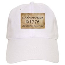 Copyright 1776 Baseball Cap
