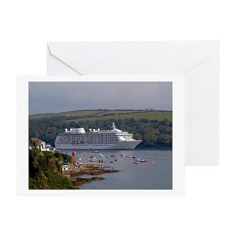Fowey-UK LOGO Greeting Card