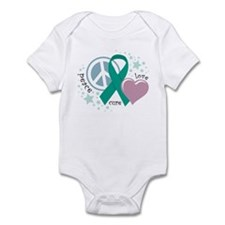 Ovarian Cancer PLC Infant Bodysuit