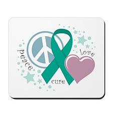 Ovarian Cancer PLC Mousepad