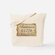 Copyright 1776 Tote Bag