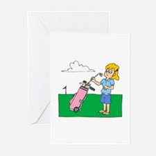 Picky Golfer Greeting Cards (Pk of 10)