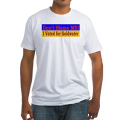 Don't Blame ME-BG Fitted T-Shirt