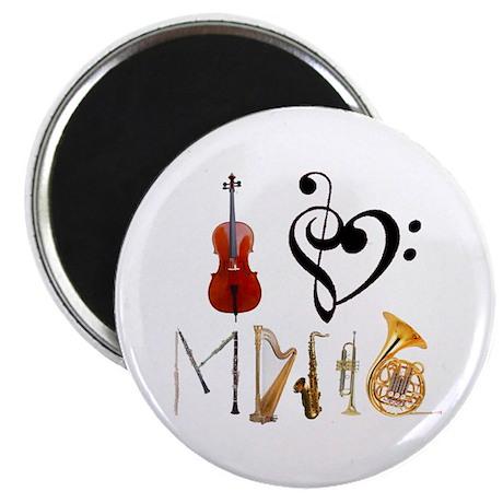 I Love Music Magnet