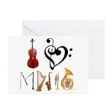 Clarinet Greeting Cards (10 Pack)