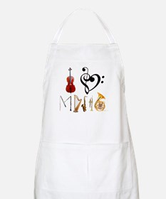 I Love Music BBQ Apron