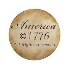 """Copyright 1776 3.5"""" Button"""