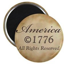 "Copyright 1776 2.25"" Magnet (10 pack)"