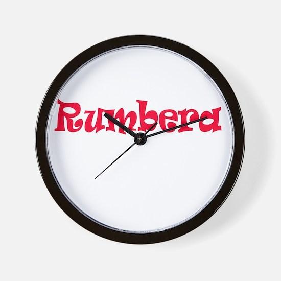 Rumbera Wall Clock