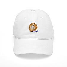 i pitch Baseball Cap
