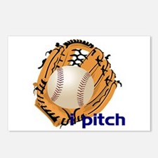i pitch Postcards (Package of 8)