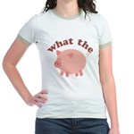 What the Heo? Jr. Ringer T-Shirt