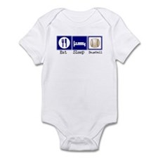Eat, Sleep, Baseball Infant Bodysuit