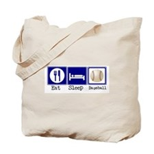 Eat, Sleep, Baseball Tote Bag