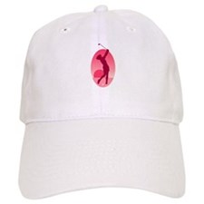 Pink Ladies Golf Logo Baseball Cap