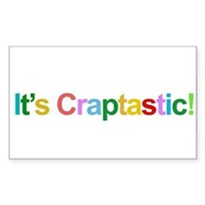 It's Craptastic! Rectangle Decal