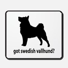 Got Swedish Vallhund? Mousepad