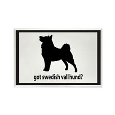 Got Swedish Vallhund? Rectangle Magnet