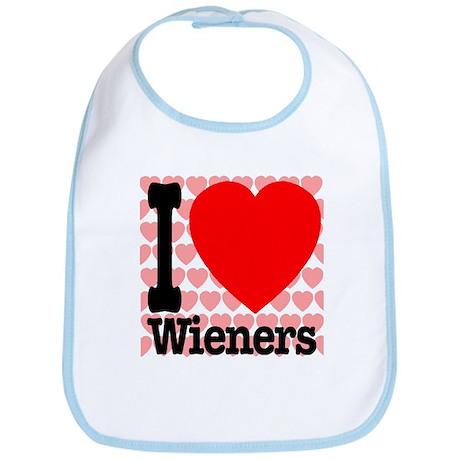 I Love Wieners Bib