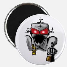 "Mad Cyborg 2.25"" Magnet (10 pack)"