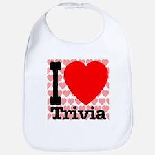I Love Trivia Bib