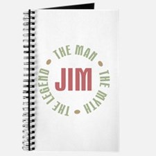 Jim Man Myth Legend Journal