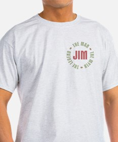 Jim Man Myth Legend T-Shirt