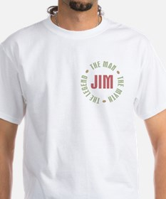 Jim Man Myth Legend Shirt