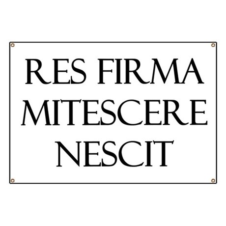 Res Firma Banner