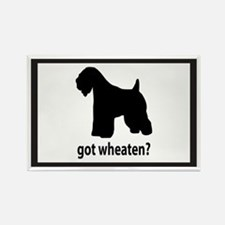 Got Wheaten? Rectangle Magnet