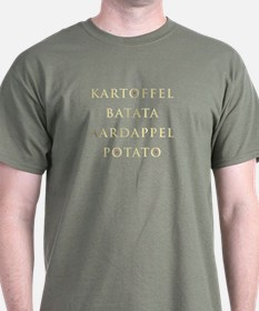 Sophsticated Potato Lovers T-shirt