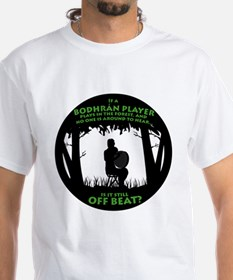 Bodhran in the Forest Shirt