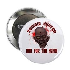 "Zombie Hunter - Headshot 2.25"" Button"