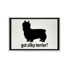 Got Silky Terrier? Rectangle Magnet