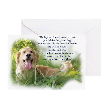 Rainbow Bridge Poem Greeting Cards (Pk of 10)