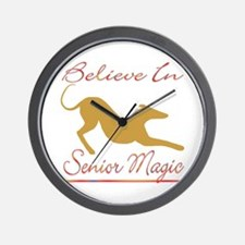 BELIEVE IN SENIOR MAGIC CLOCK