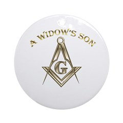 A Widows Son Ornament (Round)
