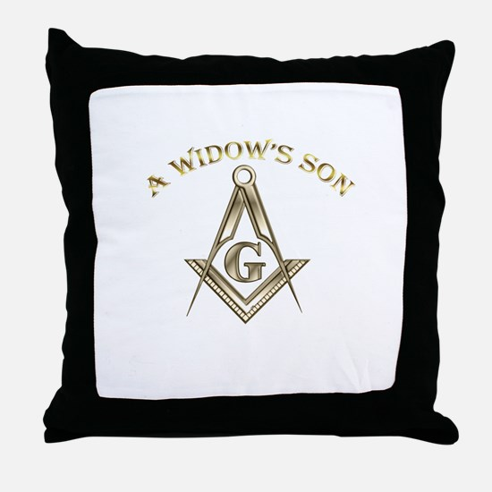 A Widows Son Throw Pillow