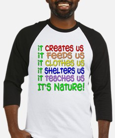It's Nature Baseball Jersey