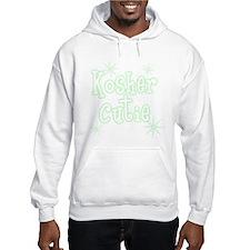 Kosher Cutie Green Hoodie