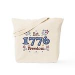 1776 Freedom Americana Tote Bag