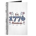 1776 Freedom Americana Journal
