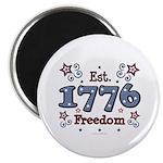 1776 Freedom Americana Magnet