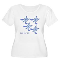 Blue Baby Sea Turtles T-Shirt