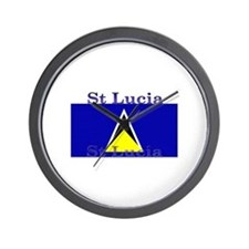 St Lucia Wall Clock